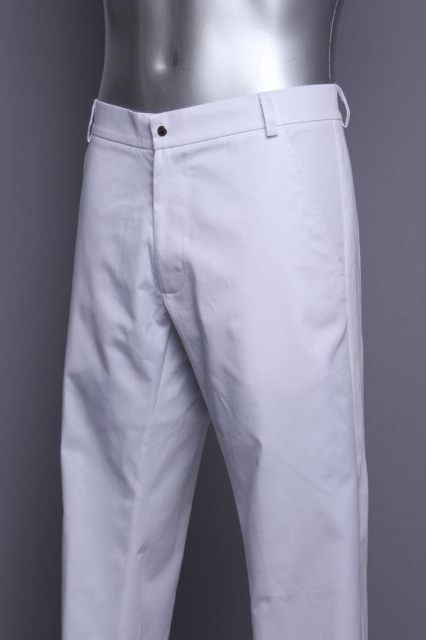 hlače muške za liječnike bijele, medicinska radna odjeća