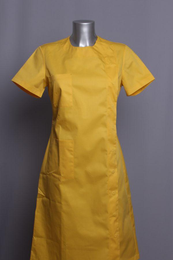 dress PARKA yellow medical uniforms