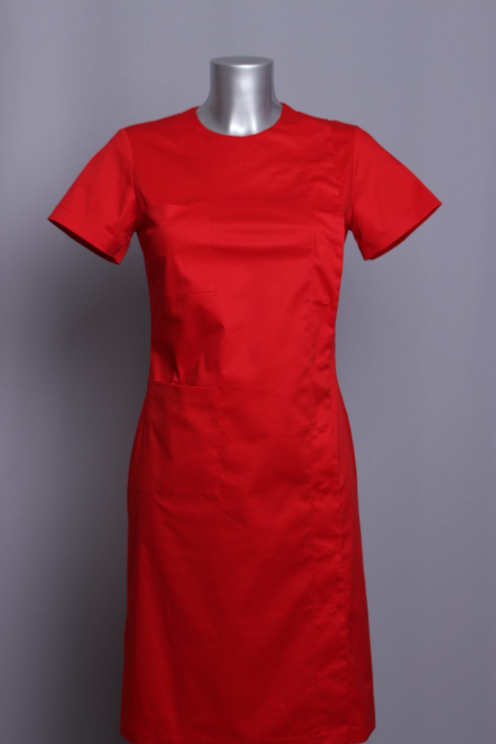 dress PARKA red medical uniforms