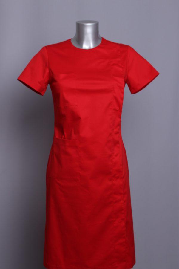 dress PARKA red medical uniforms