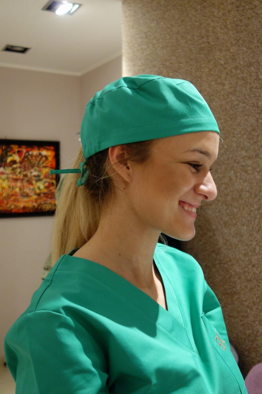 kapa operacijska, kirurška kapa, medicinska oprema, kute liječničke