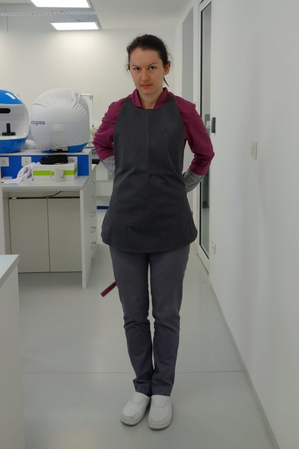 uniforms for dental laboratories, apron