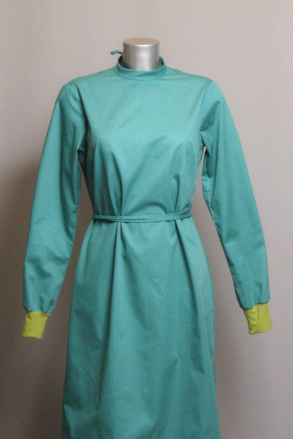 mantil operacijski, ženska radna odjeća