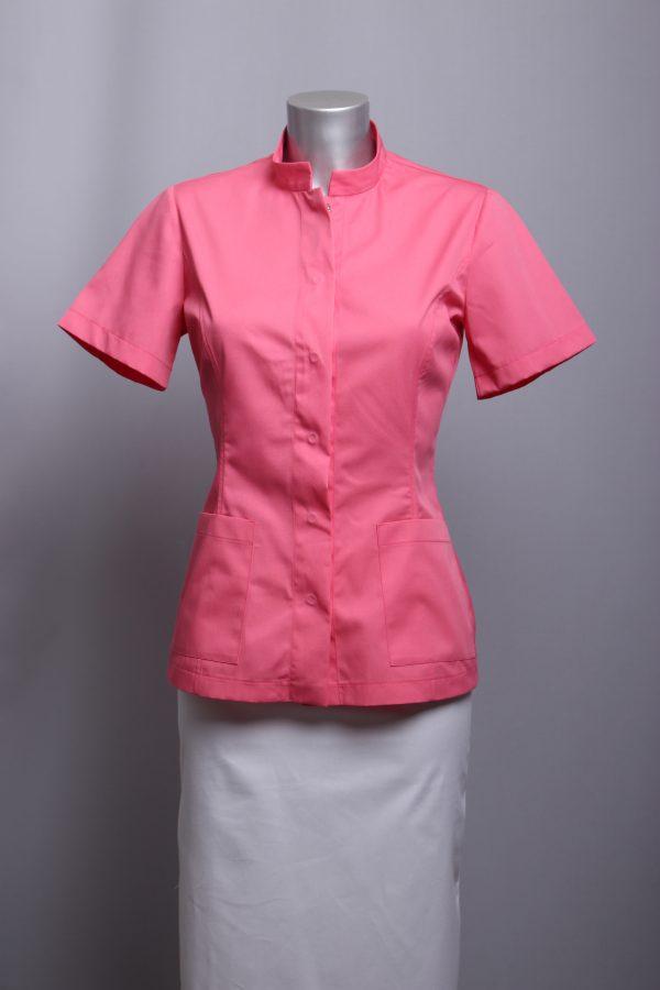 uniforme za njegovateljice, sestrinske kute, liječničke kute boja koralja,